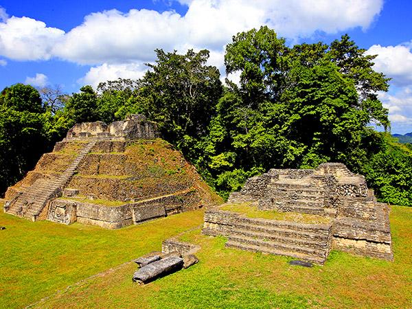 Maya vestigingen