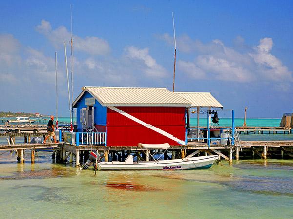 Eilanden en Cayes
